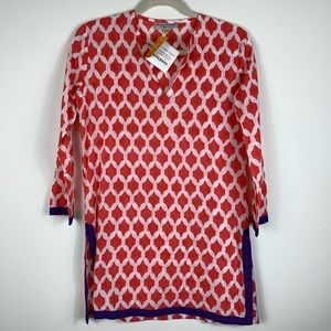 NWT Roberta Roller Rabbit tunic cover up size xs